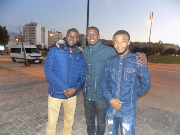 CHAN 2018: Nigerian students drum up support for Eagles in Tangier