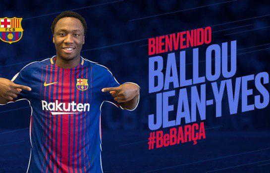 Barcelona sign Canadian of Ivorian origin Tabla