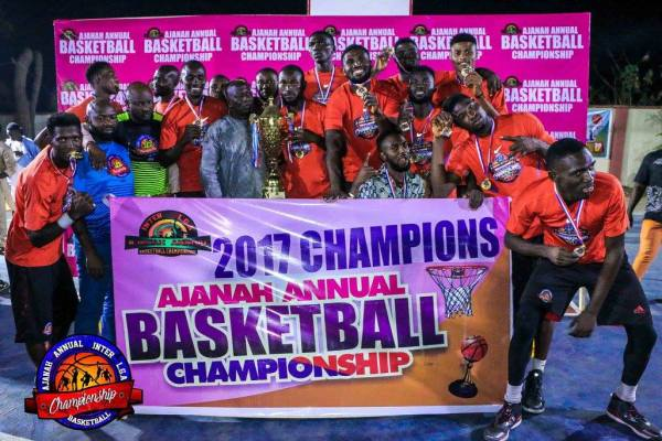Team Okene wins 10th Ajanah Basketball Tournament