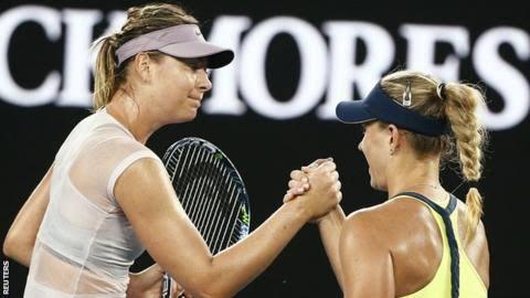 Aussie Open day 6 wrap: Sharapova out, Djokovic through