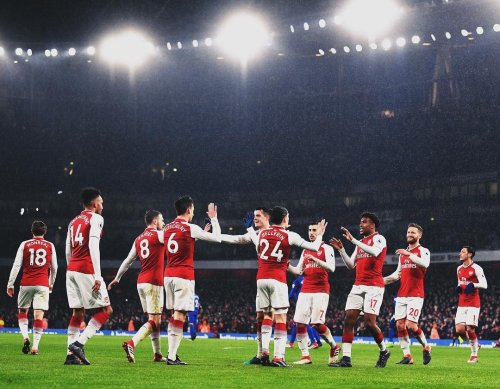 Arsenal 5-1 Everton: Ramsey scores first hattrick, Aubameyang off the mark as Gunners rout Toffees