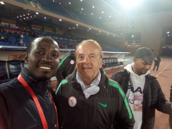 Maroc Diary 15: Behind the Scenes of Nigeria's win over Sudan