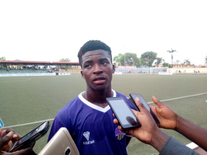 MFM youngster, Abayomi excited about CAF CL debut