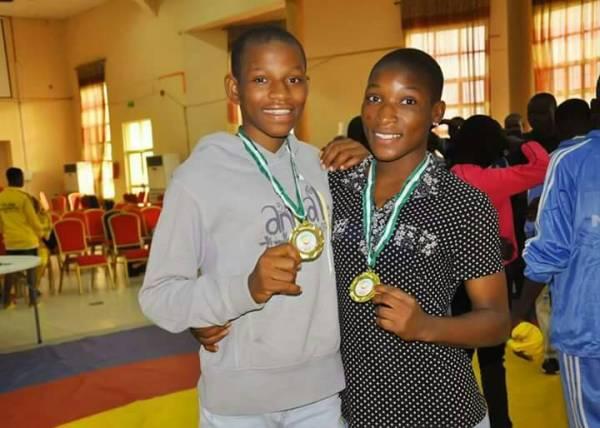 Mercy Adekuoroye and Esther Kolawole