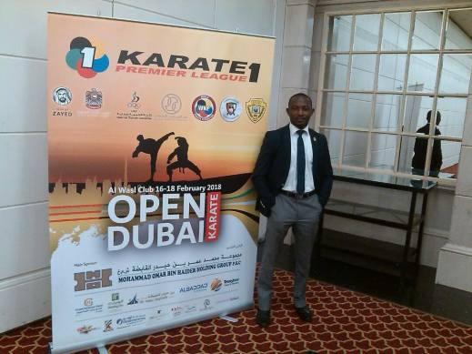 Karate: Nigerian Referees at Premier League in Dubai