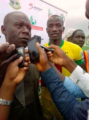 NPFL: Pillars coach criticises Ogunbote's match reading plan