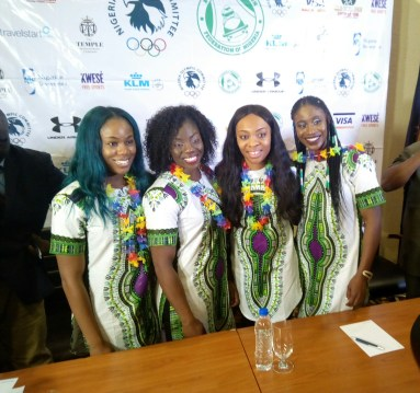 NOC, BSFN hosts Nigeria's Bobsled and Skeleton team in Lagos