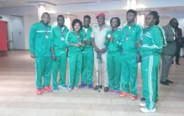 FG receives Nigerian Para-powerlifting, badminton medallists
