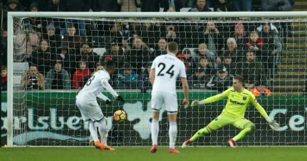 PL: Son's double move Spurs third, Swans hammer West Ham
