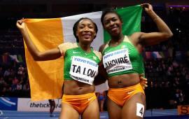 Ivorian speedstars Ahoure, Ta Lou win big in Birmingham