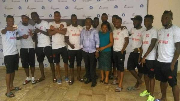 CAFCC: Team Akwa United prepare for Ittihad with 'Black Panther'