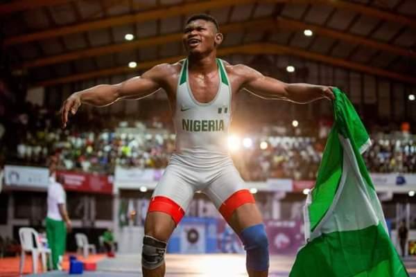 Wrestling: Emmanuel ranked No 1 in the World