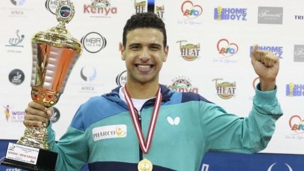 ITTF Kenya: Assar claims 2018 African Cup over Quadri