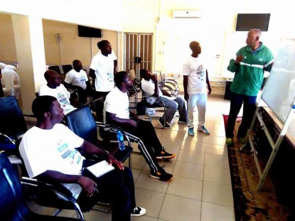 V/ball: North West coaches undergo four day coaching course