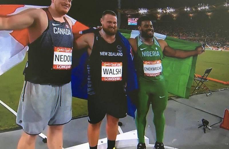 Enekwechi gives Nigeria her second medal, Ogunlewe misses out