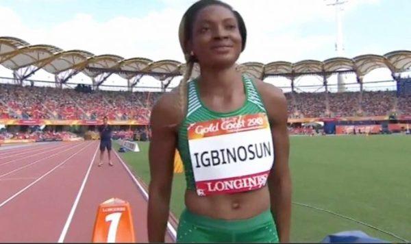 "C/Wealth Games: Nigerian sprinter Igbinosun ""disappears"".."