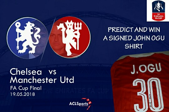 Predict And Win: A signed John Ogu club Jersey