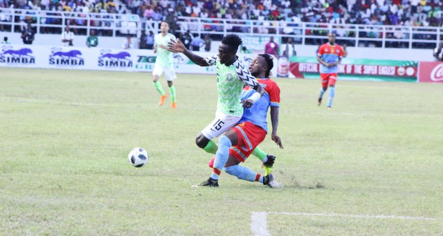 Russia 2018: Nigeria start buildup with draw against Congo