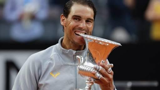 Rafa Nadal beat Zverev to win 8th Rome title