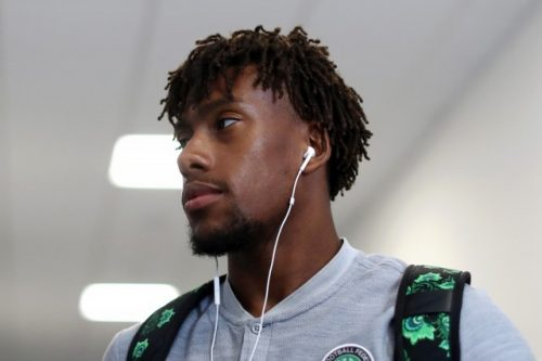Iwobi features as ten-man Arsenal book quarterfinal spot