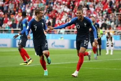 Russia 2018: Mbappe's goal enough as France progress