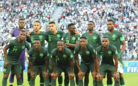 Nigeria drop two spots on FIFA/Coca-Cola world ranking
