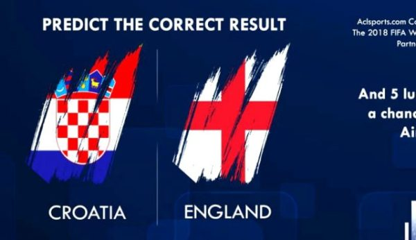 World Cup 2nd Semi-Final: Predict and Win Airtime