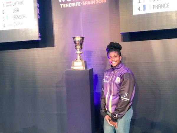 FIBAWWC: Alaeze pulls out of D'Tigress for Masters Degree