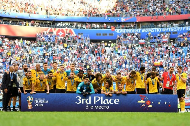 Russia 2018: Belgium make history with England win