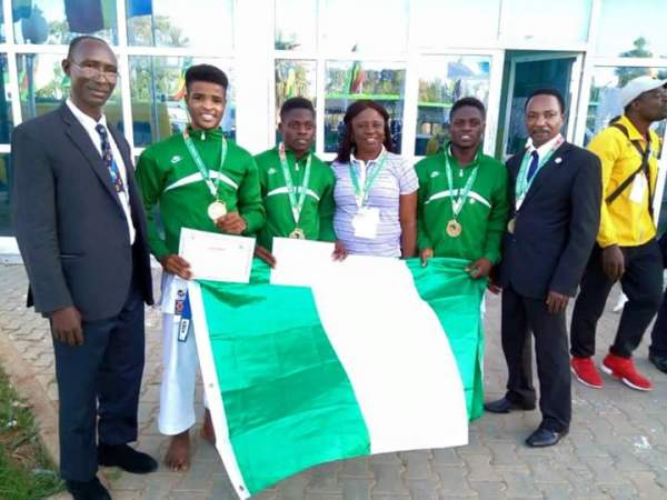 2018 Africa Youth Games: Team Nigeria place fifth