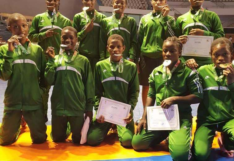 2018 AYG: Nigeria wrestlers cart away with 10 medals
