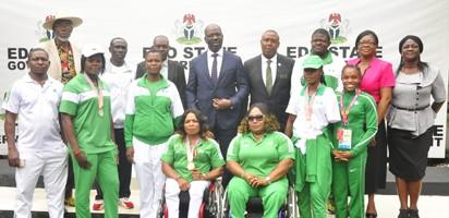 C'Games: Gov Obaseki splash N7.5 million on Edo athletes