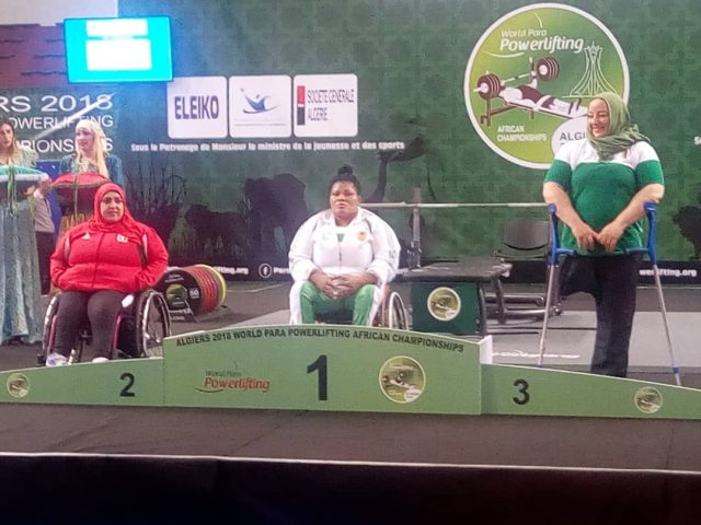 Nigeria Powerlifters top 2018 Africa Para Championships table