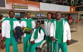 Obazuaye, two others for World Para T/Tennis Championships
