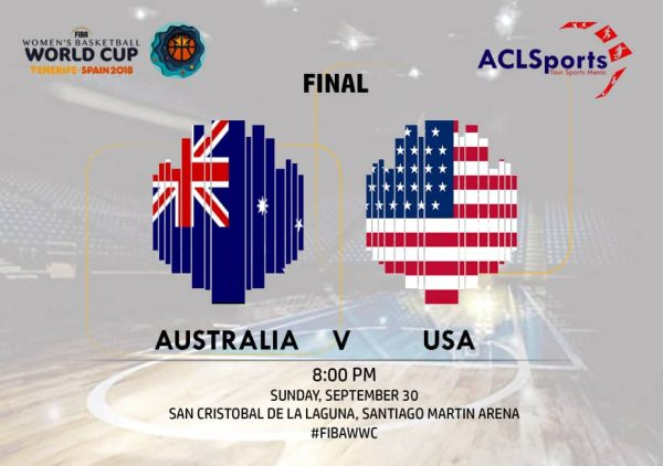 2018 FIBAWWC Final: 2006 champions Australia Vs champions USA