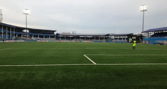CAFCC: Enyimba install new floodlights at Aba Stadium