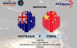 2018 FIBAWWC Preview: Australia Vs China