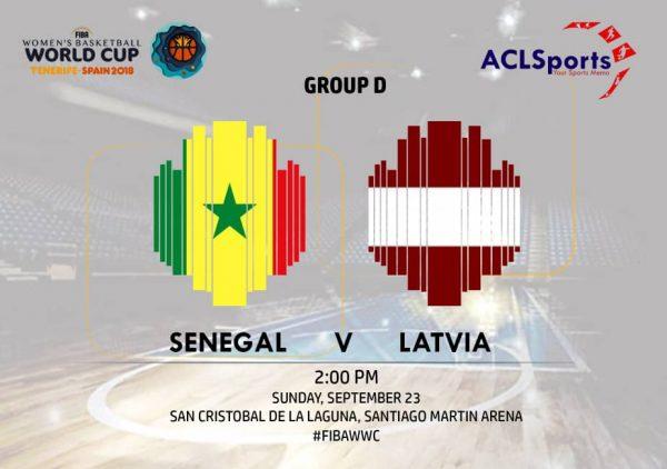 2018 FIBAWWC: Latvia vs Senegal Lionesses