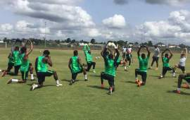 Nigeria vs Seychelles: Full house in Eagles camp as Seychelles arrive
