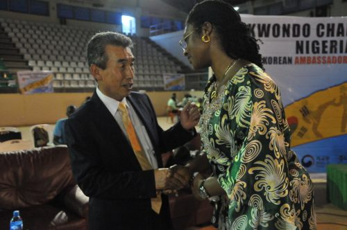 Taekwondo: Build us training centres, Binga to Korean Ambassador