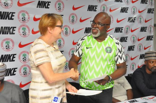 NFF, Nike sign kit manufacturing extension deal