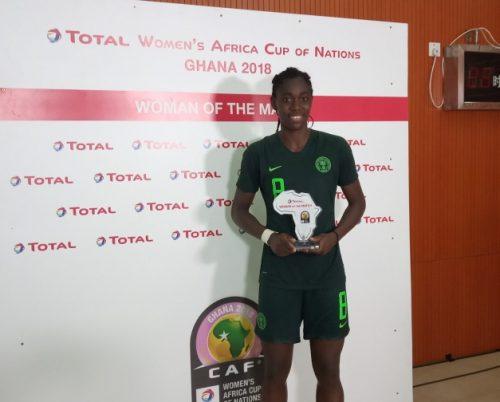 AWCON 2018: Oshoala the hero as Falcons set up Cameroon clash