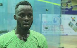 NSF: Olarenwaju, Squash champion after three attempts