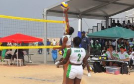 Beach volleyball teams increased to 24 at All Africa Games