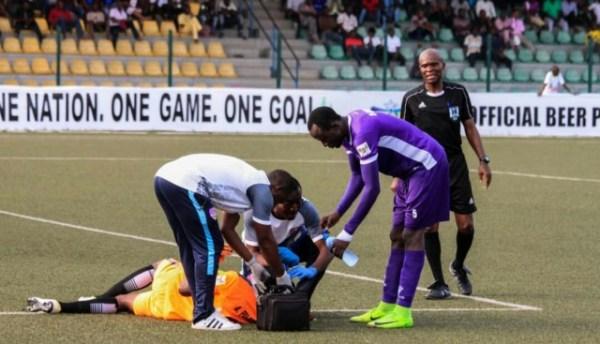 NPFL: Ilechukwu left fuming at Abayomi's delay antics