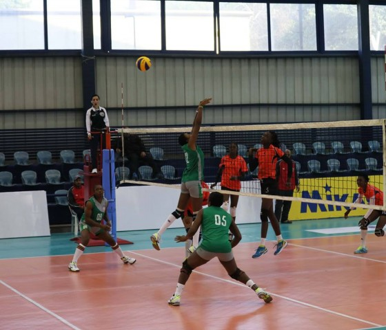 Volleyball: Customs zooms into quarterfinal of Club Championship