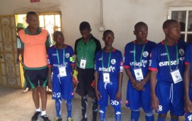 2019 NPFL-LaLiga U-15 Screening holds in Asaba, Kaduna