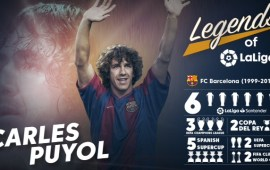 Legends of LaLiga: Carles Puyol, a responsible family