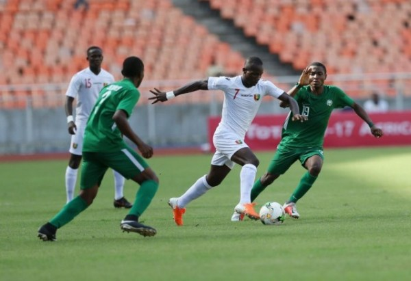TotalAFCONU17: Eaglets beaten as Guinea, Cameroon reach final