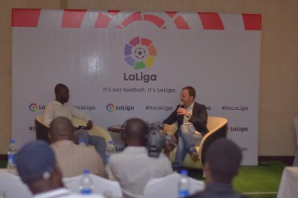LaLiga Nigeria: Sid Lowe engages Nigerian media on LaLiga